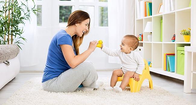 Potty Training Töpfchen Kind Hygiene Mutter Eltern