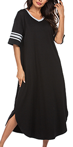 Women long nightgown