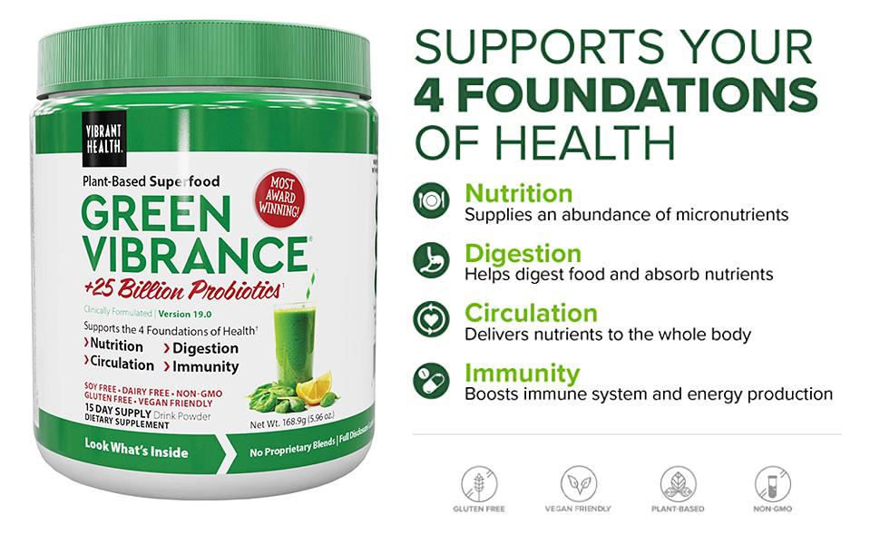Green Vibrance 15 servings