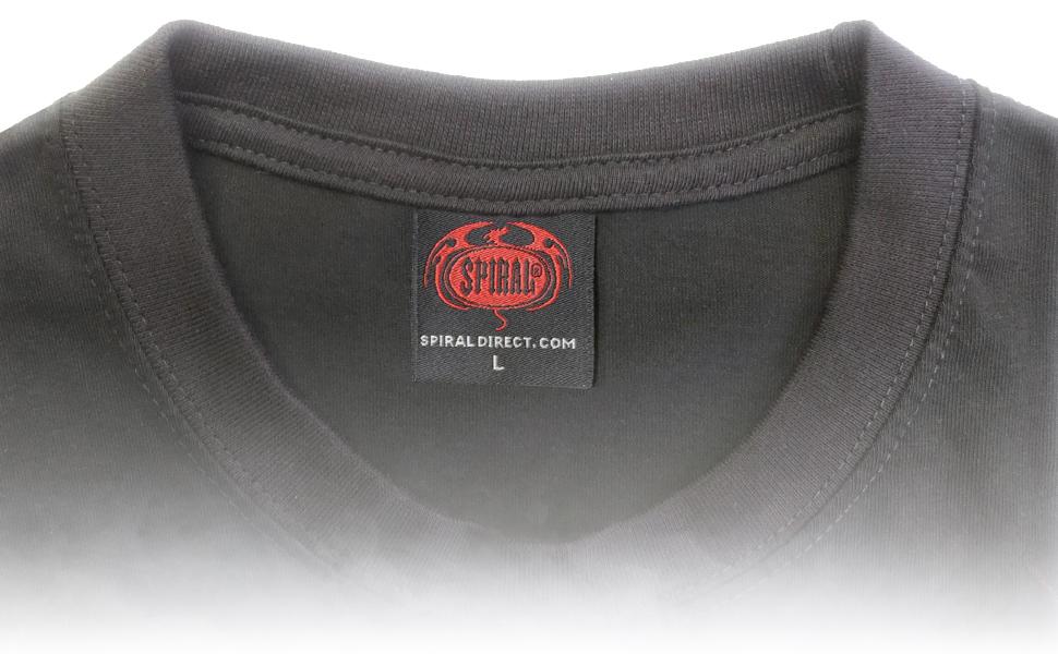 T-Shirt Label Close Up
