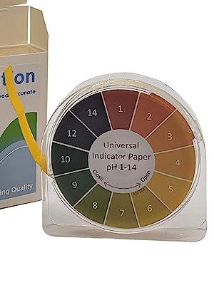 ph 1-14 roll Test Paper kombucha fermentation testing  pickling canning universal wide range