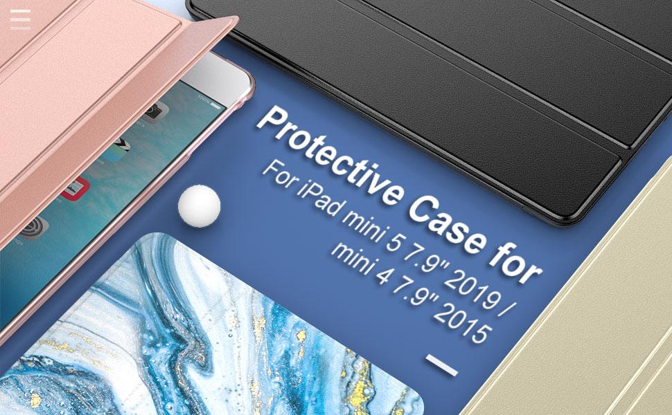 """Protective Case for iPad mini 5 7.9"""" 2019 / mini 4 7.9"""" 2015"""