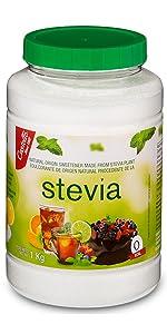 stevia 1:2 1 kg jar