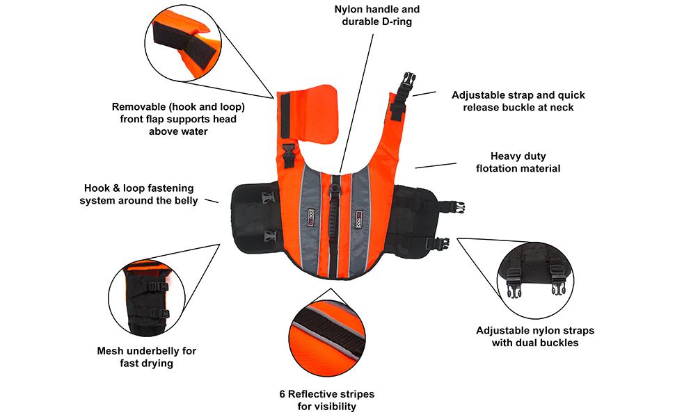 info life vest