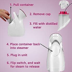 facial steamer for face