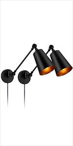 Adjustable Wall Light Fixtures E26 Base