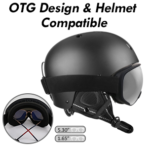 OTG Design & Helmet Compatible