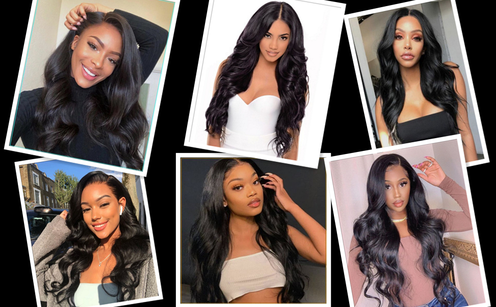 4*4 lace front wig body wave