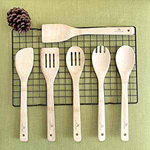 bamboo spatulas for cooking