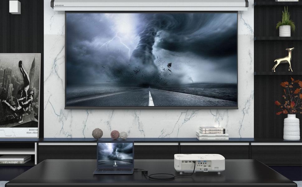 ICZI Adaptador DisplayPort a HDMI 2.0 4K 60HZ Multipantalla ...