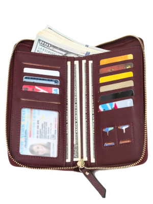 Fitted card holder