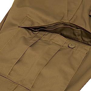 Rothco BDU Pants - Button-Down Pockets