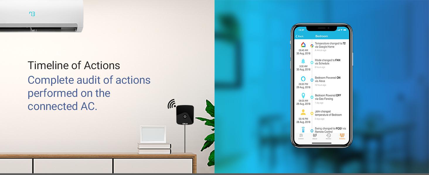 Smart AC, Smart air conditioner, Smart thermostat, Smart AC Control, Smart AC Controller, Ecobee