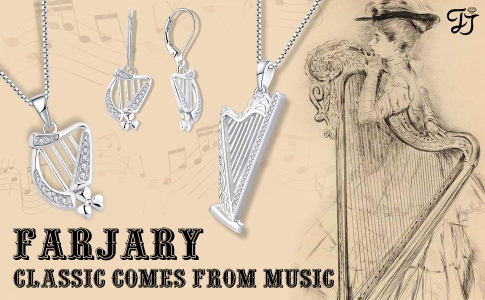 Harp Necklace