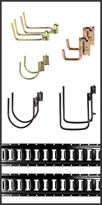 E-Track Rails and Hooks
