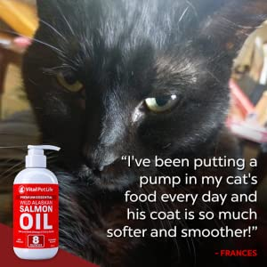 salmon fish oil dog cat pet omega3 omega 3 supplement dry itchy skin coat