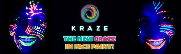 Kraze FX Neon face and body paint palette