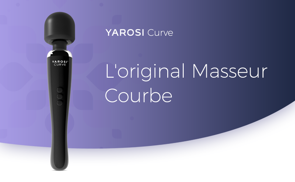 L'original Masseur Yarosi Curve blanc