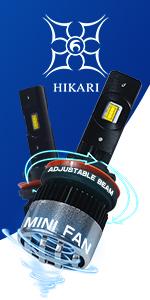 HIKARI LED headlight bulbs