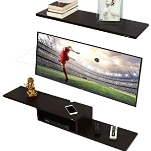 tv wall cabinet wooden