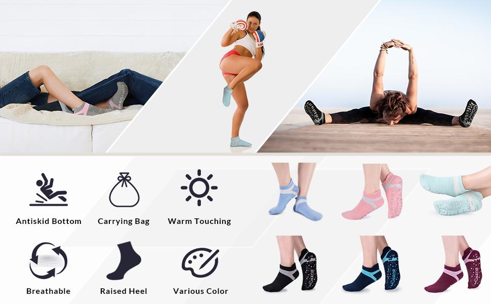 Various Colors Yoga Socks