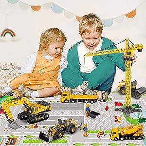 Construction Truck Car Toys