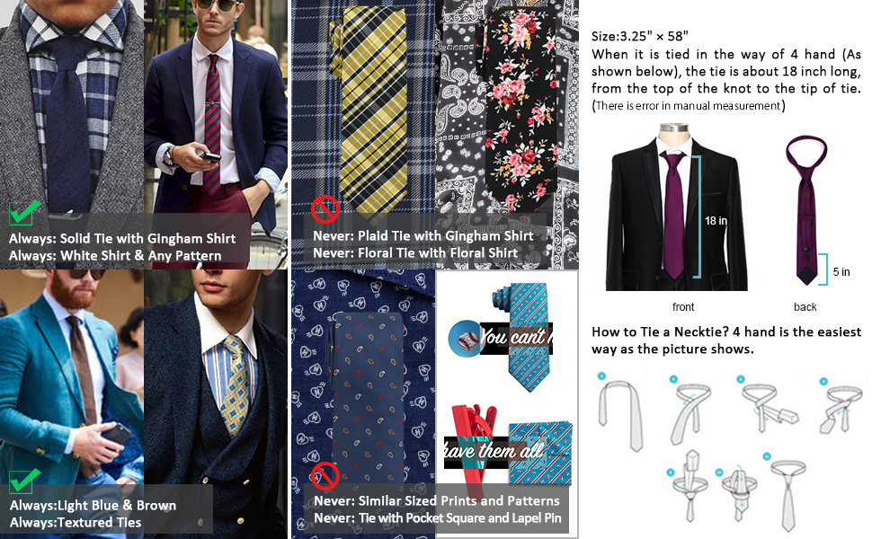 We Asked a Men's Formalwear Designer How to Match Ties and Shirts — a Visual Guide