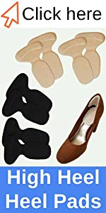 Chiroplax high heel pads cushion insert pad insole forefoot ball of foot cushion