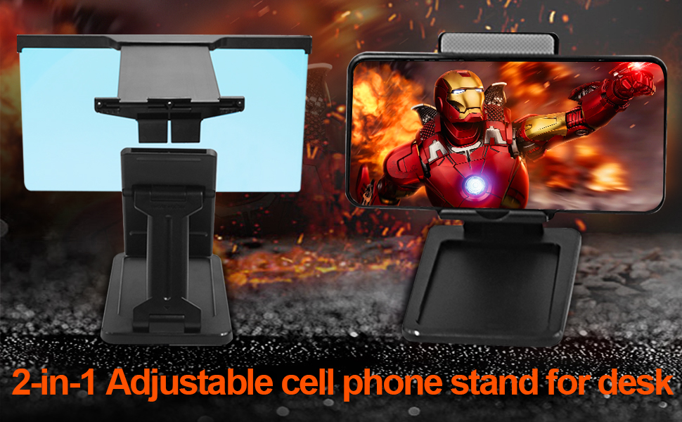 Phone Screen Magnifier with Cell Phone Stand