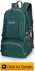 backpack with wet pocket
