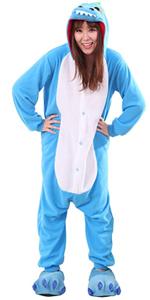 Blue dinosaur pajamas