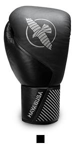 Hayabusa Black Classic Lace Boxing Glove