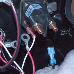 12V Power Trim Solenoid