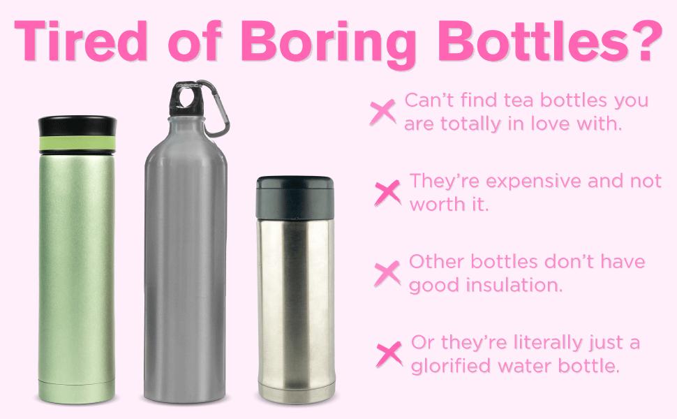 hey girl insulated water bottle