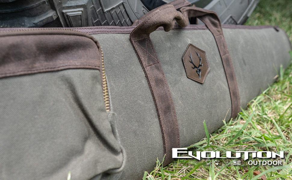 Rawhide Series Waxed Canvas Rifle or Shotgun Case from Evolution Hunting for Hunting Season