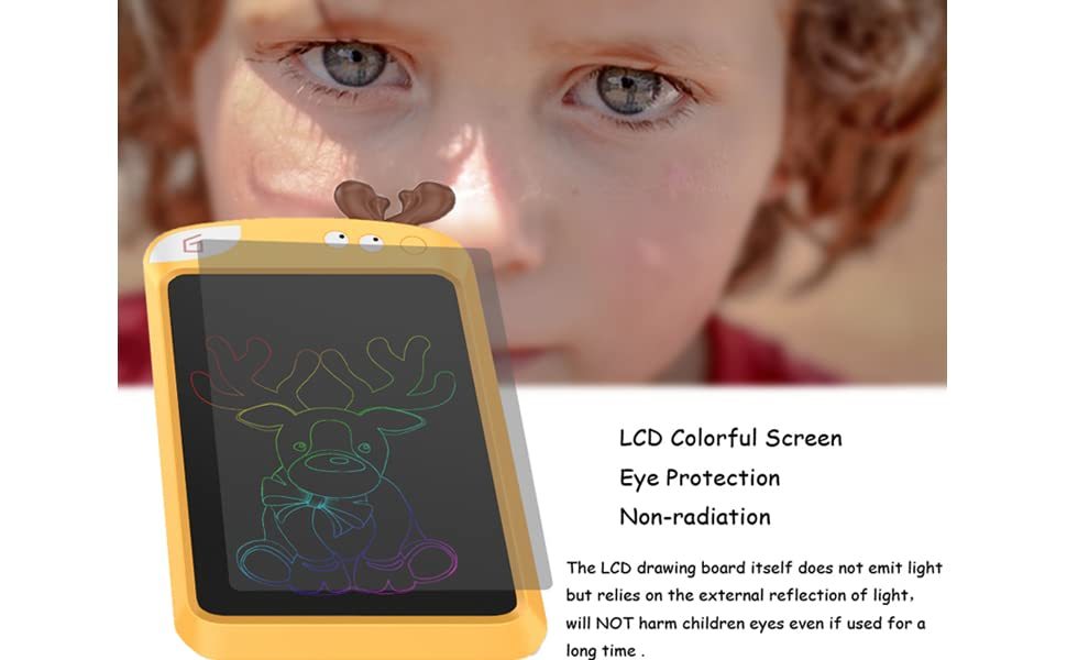 Eye Protection LCD Colorful Screen: