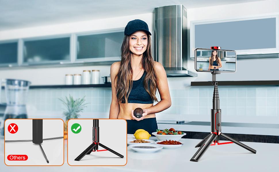 selfie stick tripod for iphone