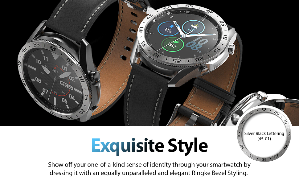 galaxy watch 3 bezel styling