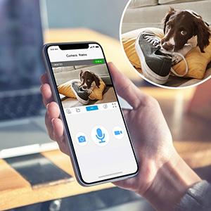 tenvis pet dog camera monitor