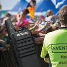 walkie talkie for security