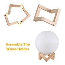 Assemble the Wood Holder