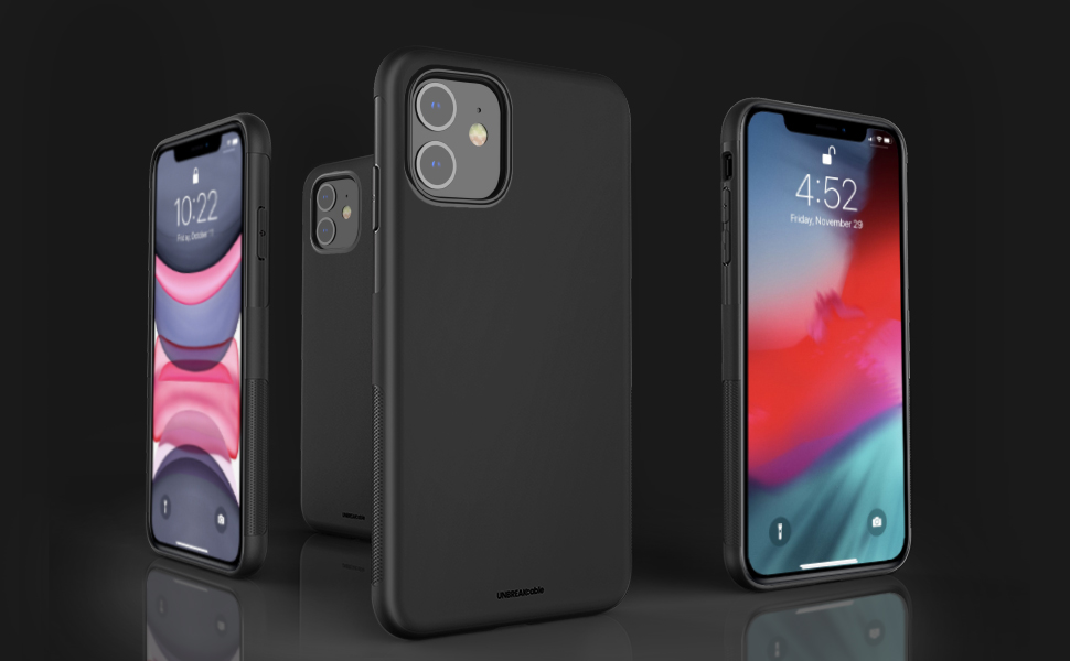 iPhone 11 Case Soft Frosted TPU Ultra-Slim Black Soft TPU iPhone 11 Protective Cover