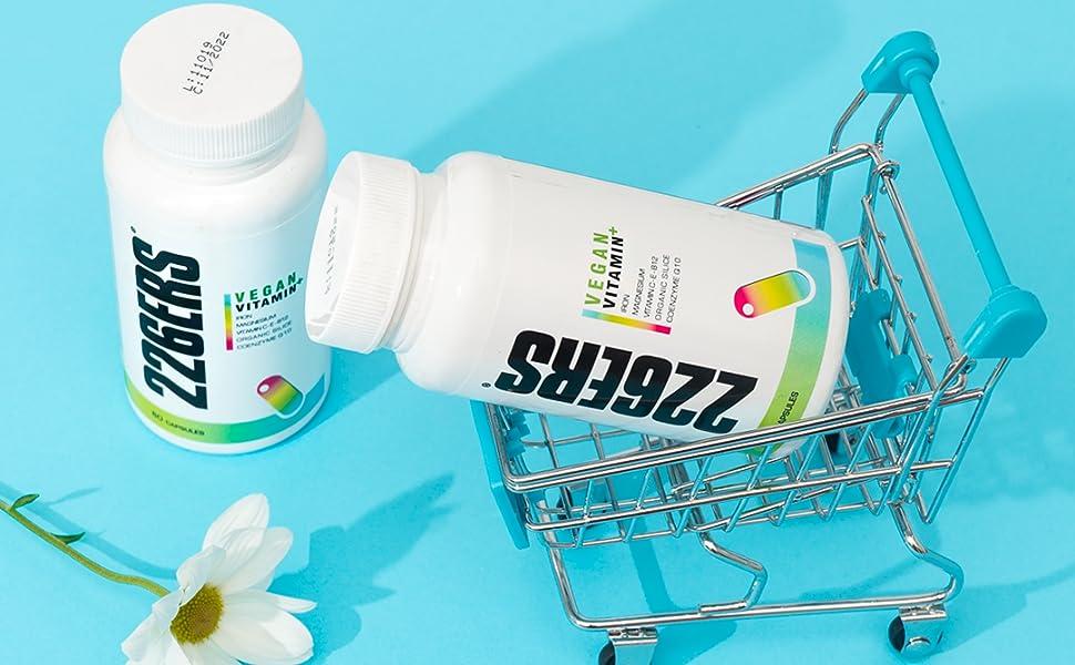 226ERS Vitamin+ 24 Vitaminas y Minerales con Coenzima Q10-60 cápsulas