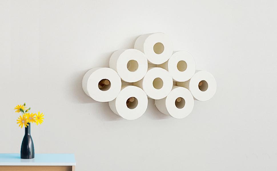 Cloud paper holder