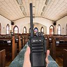 retevis RT21 walkie talkie for church