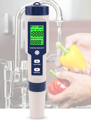 water ph ec meter