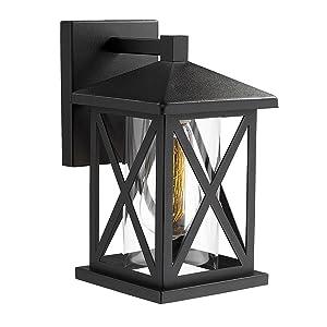 Black Wall Mount Light