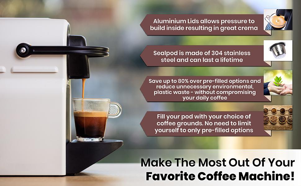 Nespresso original line coffee machine