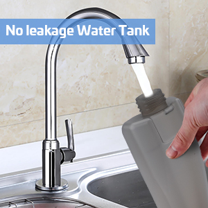 No Annoying Leaking Problem