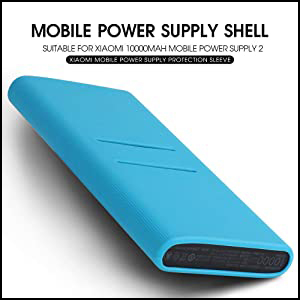 Silicone Protector Case Cover for Xiaomi 10000mAH Power Bank 2 Generation